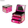 Joyero 2 Cajones Mas Espejo Monster High