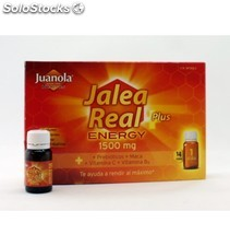 Juanola jalea real plus energy 1500 mg 14 viales