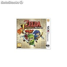 Juego 3DS the legend of zelda tri force heroes