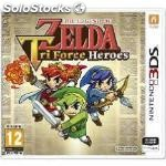 ✅ juego 3DS - the legend of zelda tri force heroes