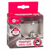 Juego de lamparas H1 Megalight Ultra +120% de luz General Electric