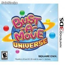 Juego nintendo 3ds bust a move universe