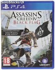 Juego plastartion 4 assassin'is, creed 4