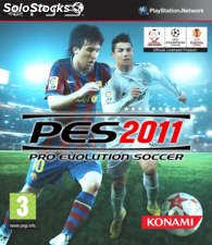 Juego play 3 pro evolution 2011.