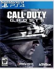 Juego playstation 4 call of dutty:ghost.