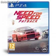 ✅ juego PS4 - need for speed payback
