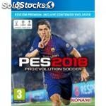 Juego PS4 - pro evolution soccer 2018 premium