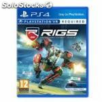Juego PS4 vr - rigs mechanized combat league
