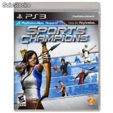 Juego sony playstation 3 move Sports Champions