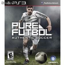 Juego sony playstation 3 pure futbol