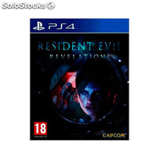 Juego sony PS4 resident evil revelation hd