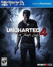 Juego sony PS4 uncharted 4 PGK02-A0009632