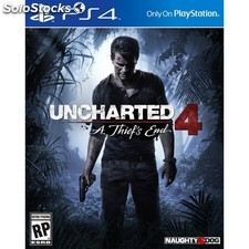 Juego videoconsola PS4 uncharted 4