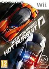 Juego wii need for speed hot pursuit.