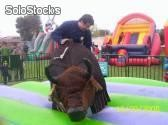 Juegos Inflables- toros mecánicos-PLANETA inflable-