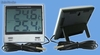 Jumbo lcd thermo hygrometer in-outdoor