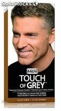 Just for men touch of grey castaño 40gr 152831.5