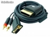 Kabel vga xbox 360 gold plated