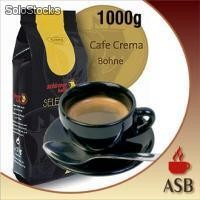 Kaffee - Selection Cafe Crèma Bohne 1000g FR1007
