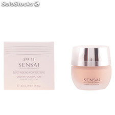 Kanebo sensai CP cream foundation SPF15 #CF12-soft beige 30 ml