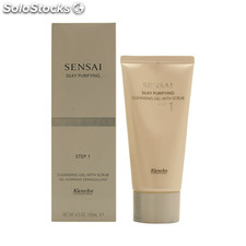 Kanebo - SENSAI SILKY cleansing gel with scrub 125 ml