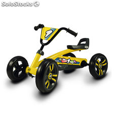 Kart a pedales Berg Buzzy Yellow