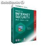 Kaspersky internet security 2016 1U multidispositivo formato caja DVD