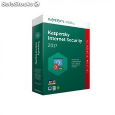 Kaspersky Lab - Internet Security Multi-Device 2017 3usuario(s) 1año(s) Español