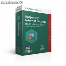 Kaspersky Lab - Internet Security Multi-Device 2017 Full license 2usuario(s)