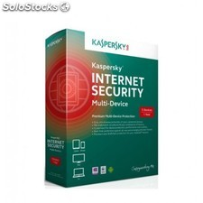Kaspersky Lab - Internet Security Multi-Device Full license 3usuario(s) 1año(s)