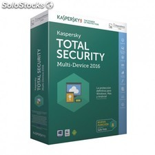 Kaspersky Lab - Total Security 2016 3usuario(s) 1año(s) Español