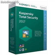 Kaspersky Total Security Multi-Device 2017 3L/1A