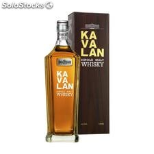 Kavalan single malt whisky 70cl 40% // whisky del mundo
