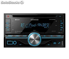 Kenwood dpx-306BT, Radio CD Doble din, usb, Bluetooth