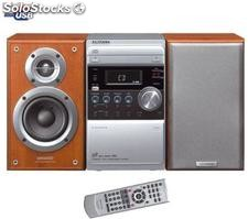 KENWOOD Micro Chaîne CD/K7/MP3/USB M-505USB-Silver