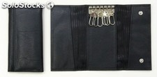 Key Holder Black Cowhide Nappa
