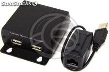 Keyboard and Mouse Extender UTP transmitter and receiver USB Cat.5 KM03 (SH43)
