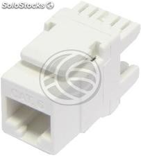 Keystone RJ45-Female to TB110 (utp Cat6 White) (RD67)