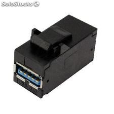 Keystone USB 3.0 A Female to A Female to patch panel frame 110 (RP64-0002)