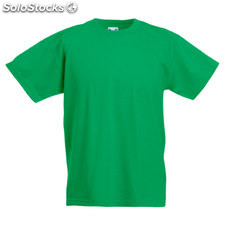 Kids Original Tee FO1019-kg-s, Kelly Green