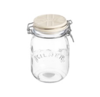 Kilner kil 1L white ceramic lid cliptop