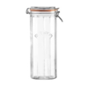 Kilner kil 2.2L facetted cliptop jar