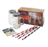 Kilner kil 9 piece mug and straw set