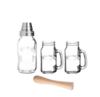 Kilner kil cocktail shaker gift set