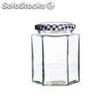 Kilner kil hexagonal twist top jar 280ML