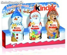 Kinder mini moulage 3X15G