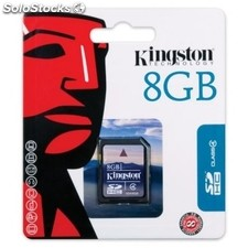 Kingston SD4/8GB Secure Digital sdhc 8GB clase 4