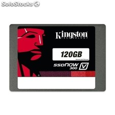 Kingston SSDNow V300 - Unidad en estado sólido - 120 GB - interno - 2.5´ -