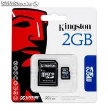 Kingston tarjeta micro sd 2GB