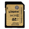 Kingston Tarjeta SD de 16 GB Ultimate Clase 10, ideal para vídeos 3D y de alta